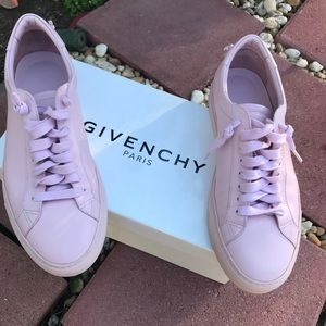 Givenchy urban knots low pale pink sneakers